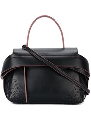 Tod's Medium 'Wave' Bag Black
