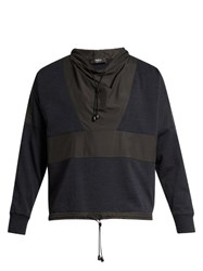 Helbers Wool And Cashmere Blend Sweatshirt Navy Multi