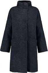 Rag And Bone Cammie Knitted Coat Midnight Blue