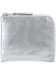 Comme Des Garcons Play Metallic Zip Purse