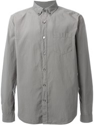 Closed Relaxed Fit Classic Button Down Shirt Green