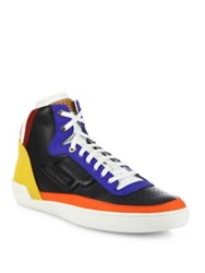 Bally Etoy Ethry Multicolor Calf Leather Sneakers