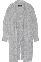By Malene Birger Dittelis Stretch Knit Cardigan Gray