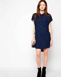 Vero Moda Shirt Dress Navy