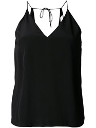 Dion Lee Loop Back Cami Top Black