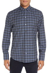 Zachary Prell Men's 'Lieberman' Trim Fit Check Sport Shirt