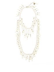 Rosantica By Michela Panero Pascoli Pearl And Mother Of Pearl Necklace