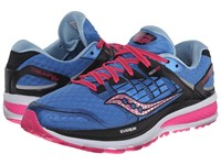 Saucony Triumph Iso 2 Blue Pink Women's Shoes