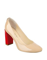 Ivanka Trump Filipa Patent Leather Pumps Nude