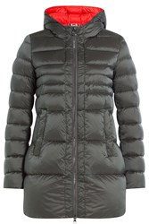 Colmar Odyssey Quilted Down Coat With Hood Grey