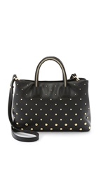 Milly Logan Small Tote Black