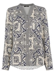 Oasis Patched Paisley Blouse Multi