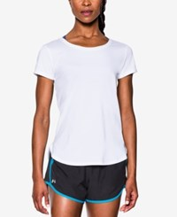 Under Armour Fly By 2.0 T Shirt White