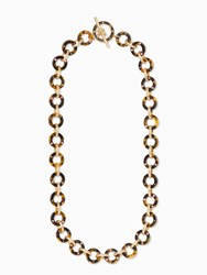 Kate Spade Out Of Her Shell Long Necklace Tortoise Multi