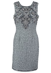 Lace And Beads Kenya Cocktail Dress Party Dress Light Grey