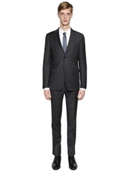 Z Zegna Micro Weave Super 130'S Wool Suit