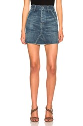 Citizens Of Humanity Annika Work Skirt In Blue