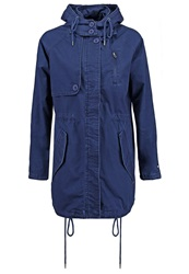 Pepe Jeans Khelina Parka Washed Navy Dark Blue