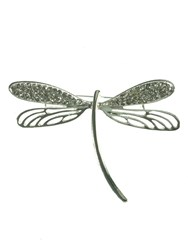 Indulgence Dragonfly Brooch