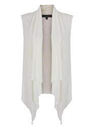 Mela Loves London Sleeveless Waterfall Kimono Cream