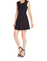 Bcbgmaxazria Dyanna Knit Jacquard A Line Dress Black