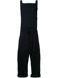 Assin 'Jacquard Baggy' Jumpsuit Black