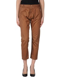 Pence Trousers 3 4 Length Trousers Women Brown