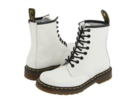 Dr. Martens 1460 White Smooth Lace Up Boots