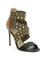 Via Spiga Gerbera Platform Leather Stilettos