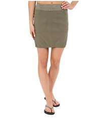Mountain Hardwear Dynama Skirt Stone Green Women's Skirt