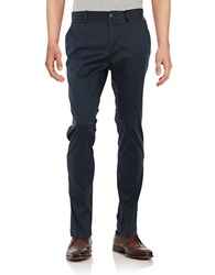 Original Penguin Cotton Blend Venture Chinos Dark Sapphire