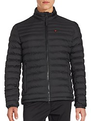 Strellson Quilted Long Sleeve Jacket Black