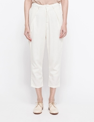 Objects Without Meaning Cecile Pleated Pant Chalk