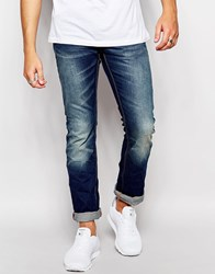 Superdry Jeans In Straight Fit Bluedenim