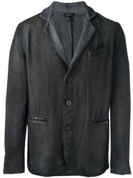 Avant Toi Three Button Blazer Grey