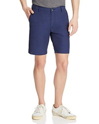 Boss Rice Slim Fit Shorts Navy