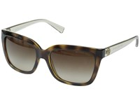 Michael Kors Sandestin Tortoise Smokey Transparent Fashion Sunglasses Brown