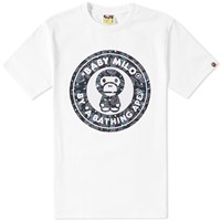 A Bathing Ape Space Camo Milo Busy Works Tee White