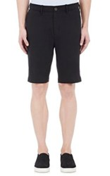 Vince. Men's Linen Blend Shorts Black