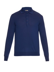Bottega Veneta Merino Wool Long Sleeved Polo Shirt