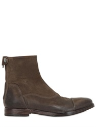 Alberto Fasciani Washed Suede Boots
