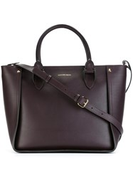 Alexander Mcqueen 'Inside Out' Tote Pink And Purple