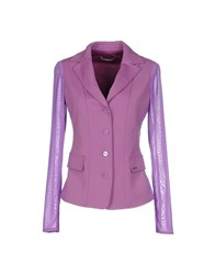 Toy G. Suits And Jackets Blazers Women Purple