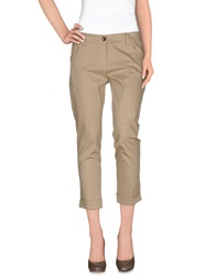 Cristinaeffe Casual Pants Beige