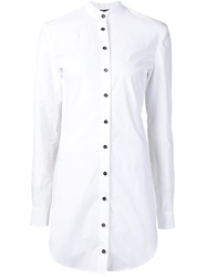 Mads Dinesen Backless Shirt White