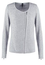 Soyaconcept Inis Cardigan Light Grey Melange Mottled Grey