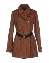 Diana Gallesi Coats And Jackets Full Length Jackets Women Brown