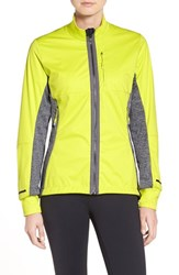 Adidas Women's 'Xperior' Softshell Jacket Shock Slime