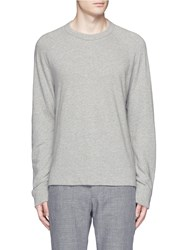 James Perse Vintage Fleece Sweatshirt Grey