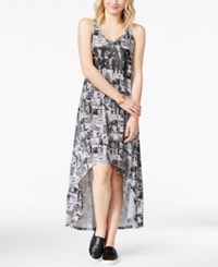 Juniors' Star Wars Comics Printed Graphic High Low Dress From Hybrid